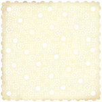 BasicGrey - Cappella Collection - Doilies - 12 x 12 Die Cut Paper - Vera, CLEARANCE