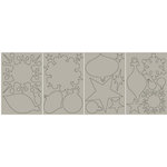 BasicGrey - Undressed Chipboard Ornaments, CLEARANCE