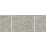 BasicGrey - Monograms Chipboard  - Obscure - Elbow , CLEARANCE