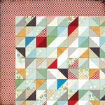BasicGrey - Clippings Collection - 12 x 12 Double Sided Paper - Handmade Quilt