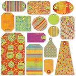 BasicGrey Tags - Color Me Silly, CLEARANCE