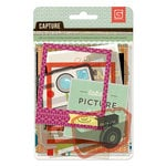 BasicGrey - Capture Collection - Die Cut Cardstock and Transparency Pieces