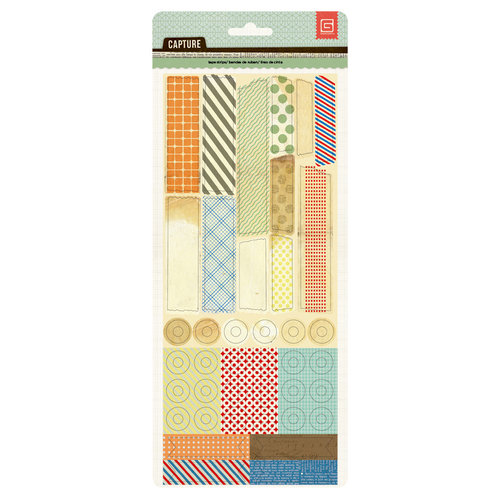 BasicGrey - Capture Collection - Vellum Tape Stickers