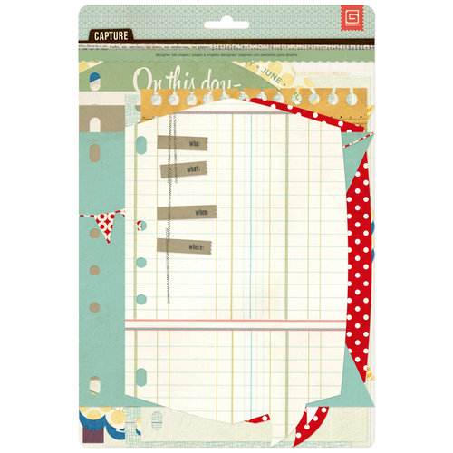 BasicGrey - Capture Collection - Designer Journal Insert Tabs