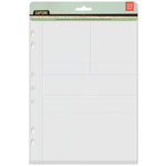 BasicGrey - Capture Collection - 7 x 9 Divided Page Protectors - Nine Pack