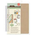 BasicGrey - Capture Collection - 5 x 7 Spiral Journal - Ledger