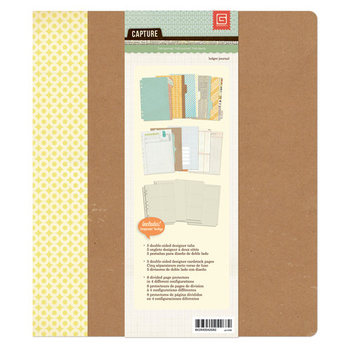BasicGrey - Capture Collection - 7 x 9 Journaling Binder - Ledger