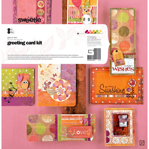 BasicGrey - Green at Heart Collection - Greeting Card Kit