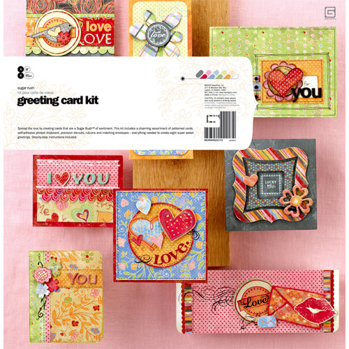 BasicGrey - Sugar Rush Collection - Greeting Card Kit