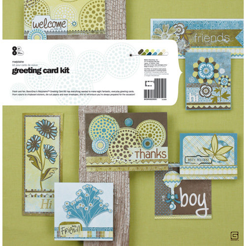 BasicGrey - Marjolaine Collection - Card Kit