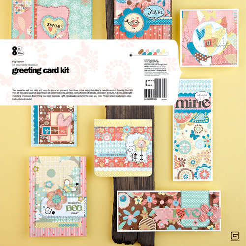 BasicGrey - Hopscotch Collection - Greeting Card Kit