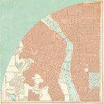 BasicGrey - Carte Postale Collection - 12 x 12 Double Sided Paper - Michigan Ave