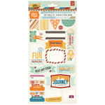 BasicGrey - Carte Postale Collection - Title Stickers