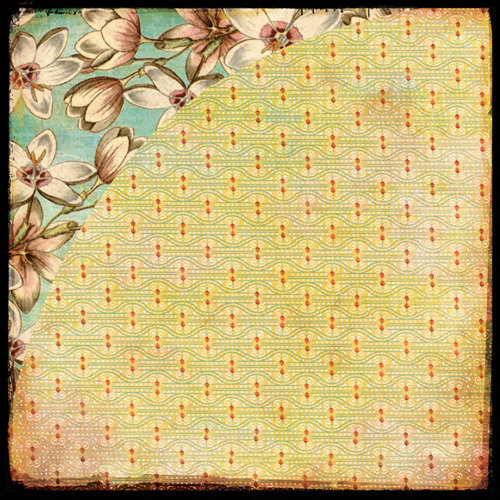 BasicGrey - Curio Collection - 12 x 12 Double Sided Paper - Ophelia