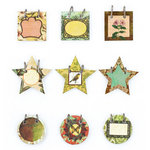 BasicGrey - Curio Collection - Small Details - Decorative Stickers - Fasteners