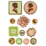 BasicGrey - Curio Collection - Epoxy Stickers