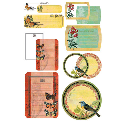BasicGrey - Curio Collection - Take Note Journaling Cards with Transparencies