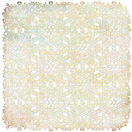 BasicGrey - Curio Collection - Doilies - 12 x 12 Die Cut Paper - Tattered Lace