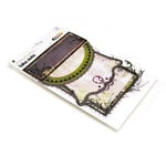 BasicGrey - Eerie Collection - Halloween - Take Note Journaling Cards with Transparencies, CLEARANCE