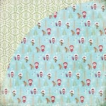 BasicGrey - Eskimo Kisses Collection - Christmas - 12 x 12 Double Sided Paper - Finial