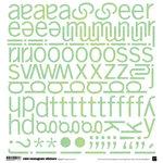 BasicGrey - Euphoria Collection - 12x12 Mini Monogram Stickers - Sweets, CLEARANCE