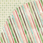 BasicGrey - Evergreen Collection - Christmas - 12 x 12 Double Sided Paper - Fa La La