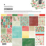 BasicGrey - Evergreen Collection - Christmas - 12 x 12 Collection Pack