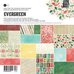BasicGrey - Evergreen Collection - Christmas - 6 x 6 Paper Pad