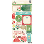 BasicGrey - Evergreen Collection - Christmas - Title Stickers