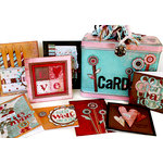 BasicGrey - Lunchpail Card Organizer Kit - For Breast Cancer Awareness