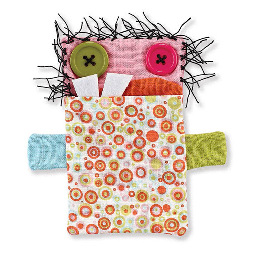 BasicGrey - Notions Collection - Monsters - Gift Card Holder - Gerda