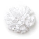 BasicGrey - Notions Collection - Fabric Flowers - Friendly Blossom - Blanc