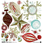 BasicGrey - Figgy Pudding Collection - Ornament Stickers - Figgy Pudding