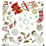 BasicGrey - Figgy Pudding Collection - Holiday Stickers - Figgy Pudding