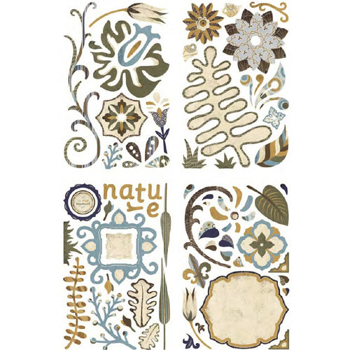 BasicGrey - Granola Collection - Adhesive Chipboard - Shapes, CLEARANCE