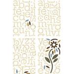 BasicGrey - Granola Collection - Adhesive Chipboard - Alphabet