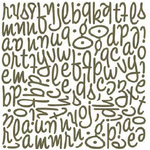 BasicGrey - Granola Collection - Mini Monogram Stickers - Wilma