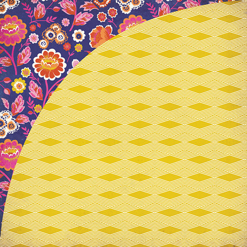 BasicGrey - Grand Bazaar Collection - 12 x 12 Double Sided Paper - Turkey