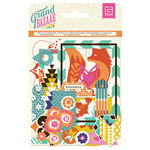 BasicGrey - Grand Bazaar Collection - Die Cut Cardstock and Transparency Pieces