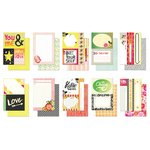 BasicGrey - Highline Collection - Journaling Cards - Snippets