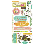 BasicGrey - Hello Luscious Collection - Cardstock Stickers - Title
