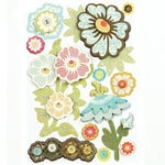 BasicGrey - Hello Luscious Collection - Pops - 3 Dimensional Cardstock Stickers