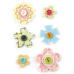 BasicGrey - Hello Luscious Collection - Bloomers - Fabric Flowers
