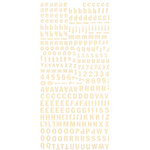 BasicGrey - Hopscotch Collection - Micro Monogram Stickers