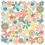 BasicGrey - Hopscotch Collection - 12 x 12 Die Cut Paper - Doilies