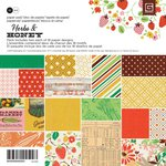 BasicGrey - Herbs and Honey Collection - 6 x 6 Paper Pad
