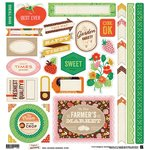 BasicGrey - Herbs and Honey Collection - 12 x 12 Cardstock Stickers - Elements
