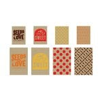 BasicGrey - Herbs and Honey Collection - Printed Kraft Bags