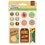 BasicGrey - Herbs and Honey Collection - Mixed Brads