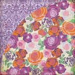 BasicGrey - Indie Bloom Collection - 12 x 12 Double Sided Paper - Pico De Gallo